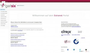 getsix extranet portal