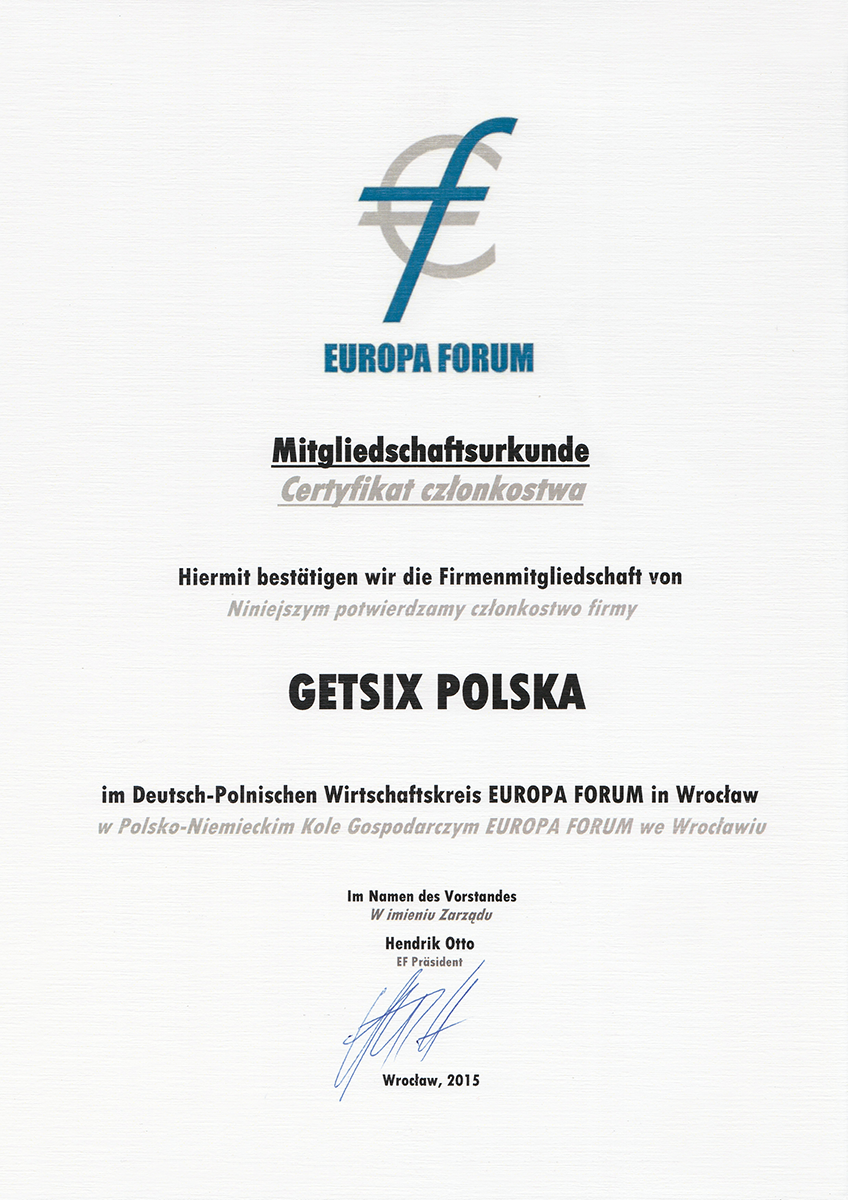 Our Certifications Poland Accounting
