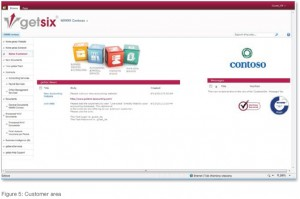 customer extranet example