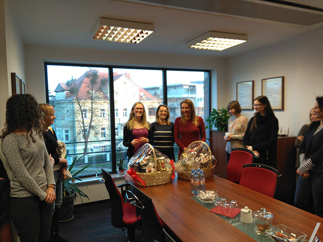 Poznan office staff celebrate 5 years