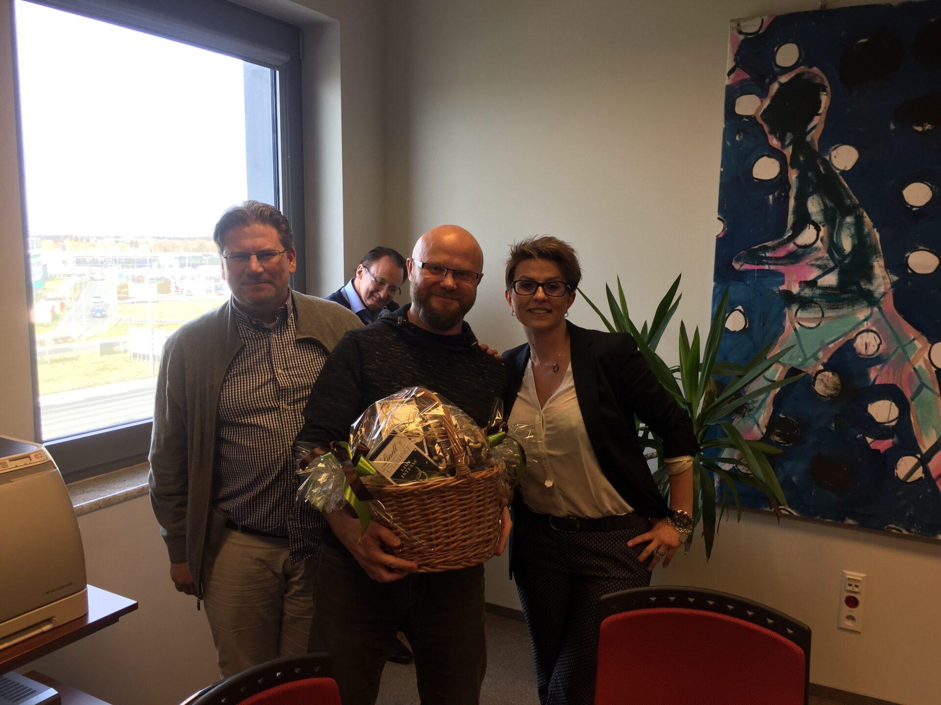 Rafał celebrates 5 years at getsix®