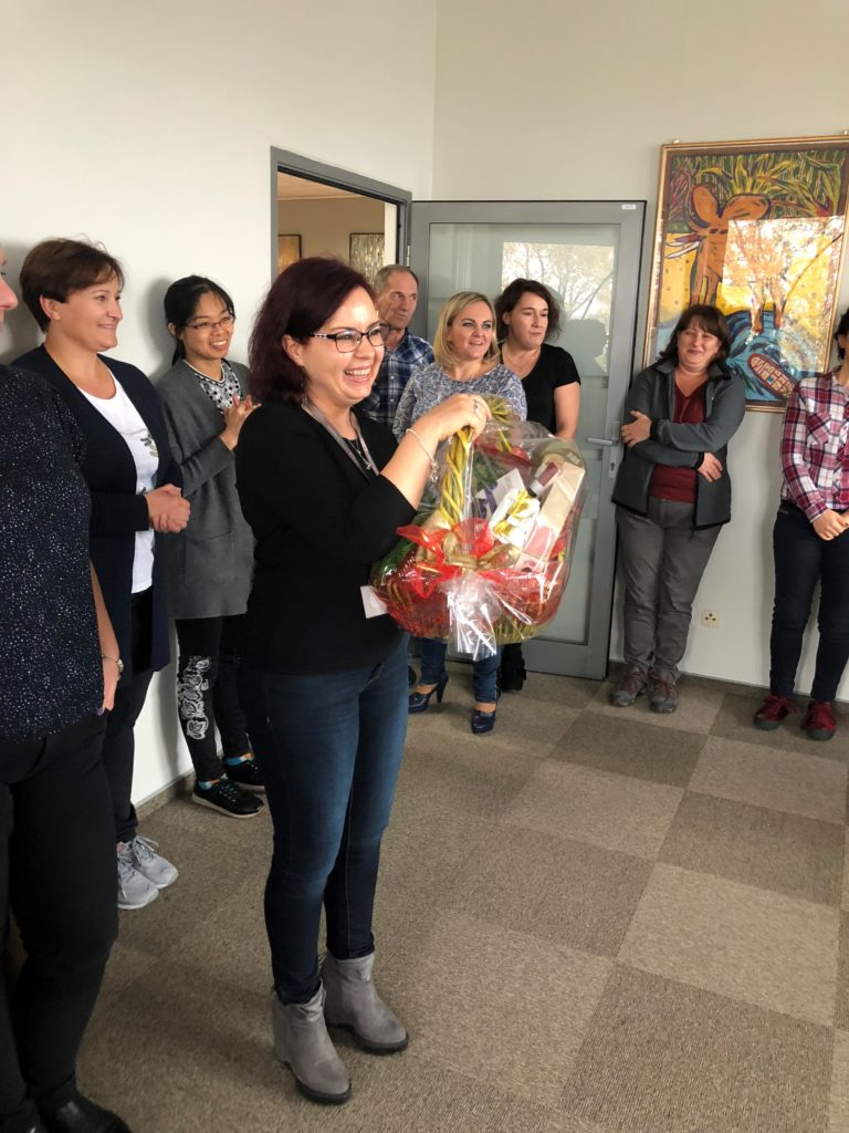 Marzena celebrates 5 years at getsix®