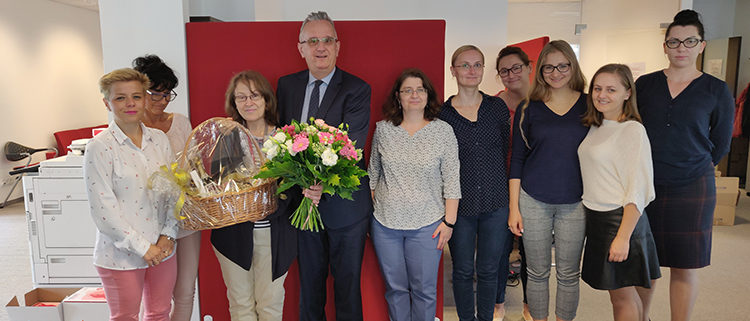 Grażyna celebrates 5 years at getsix®