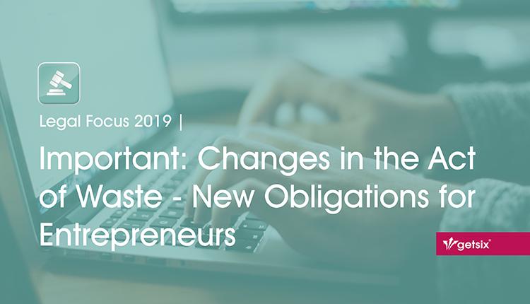 New Obligations for Entrepreneurs