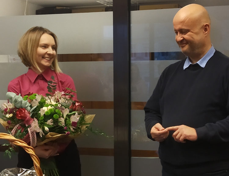 Marta celebrates 10 years at getsix®