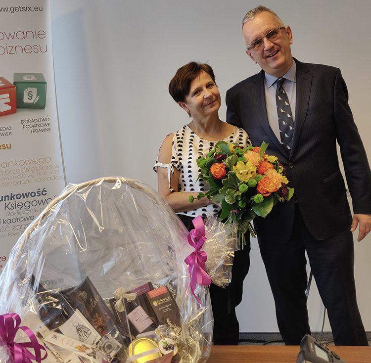 Bożena celebrates 5 years at getsix®