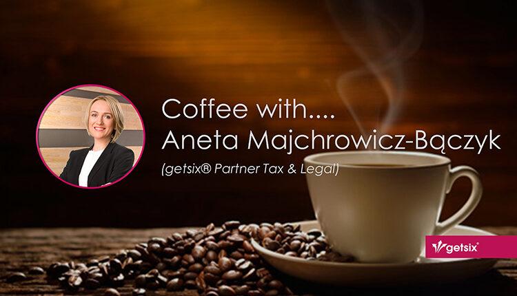 Coffee with.... Aneta Majchrowicz-Bączyk