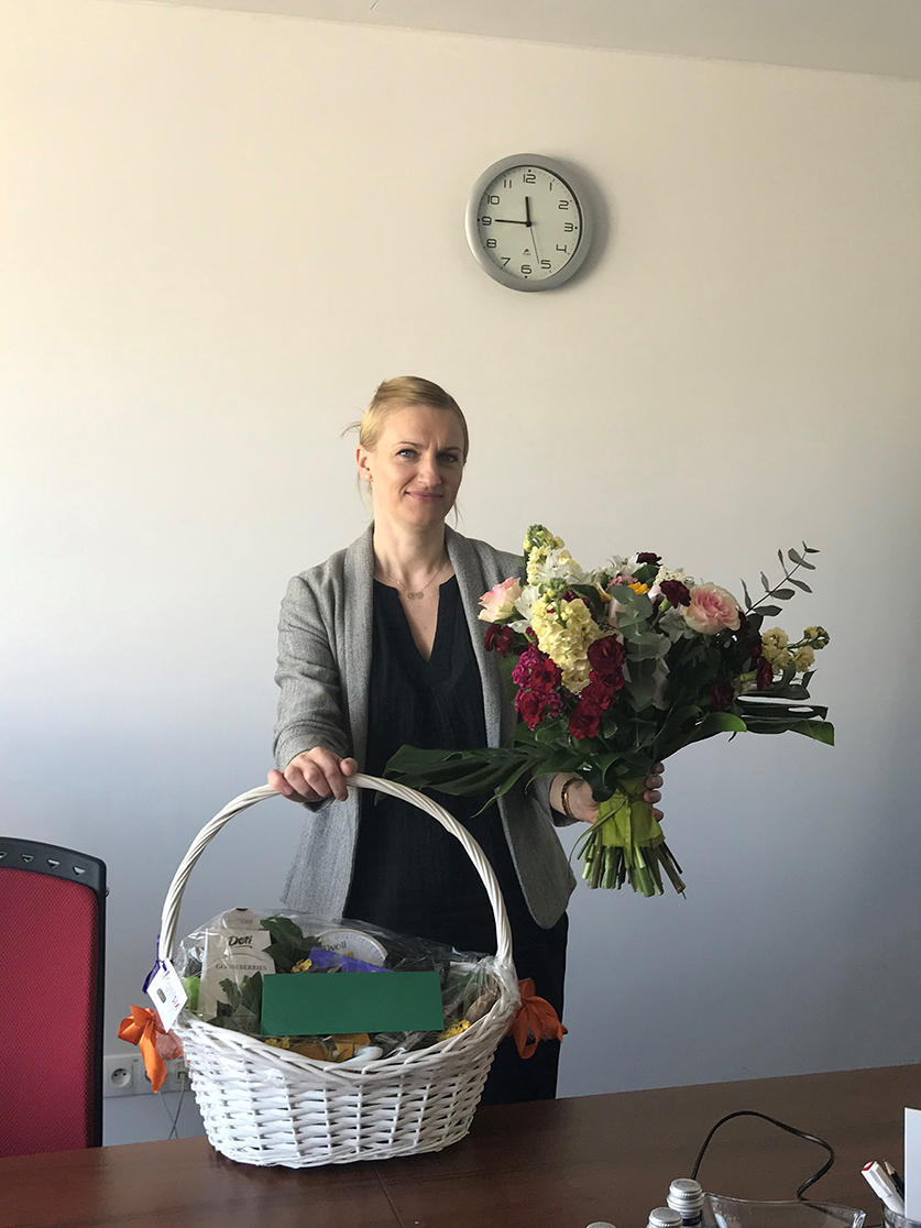 Marta Radoszko-Adamczak obchodzi 5-lecie pracy w getsix®