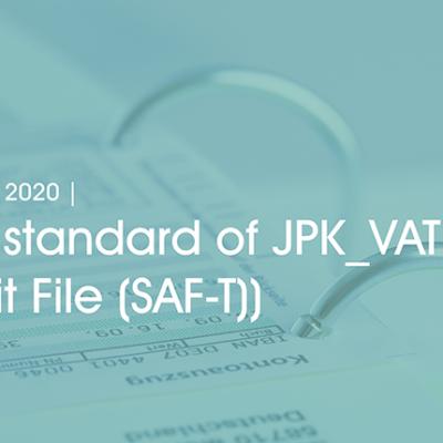 New standard of JPK_VAT (Audit File (SAF-T)) - header image