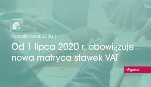 Nowa matryca stawek VAT - obrazek nagłówkowy