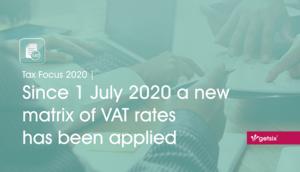 New matrix of VAT rates - header image