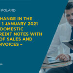 SLIM VAT – Change in the rules from 1 January 2021 regarding domestic negative credit notes with Polish VAT of sales and purchase invoices