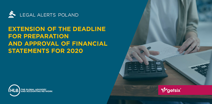 Extension of the deadline for preparation and approval of financial statements for 2020