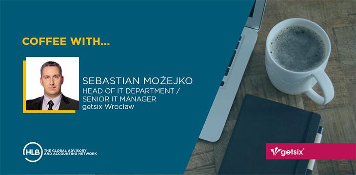 Coffee with Sebastian Mozejko
