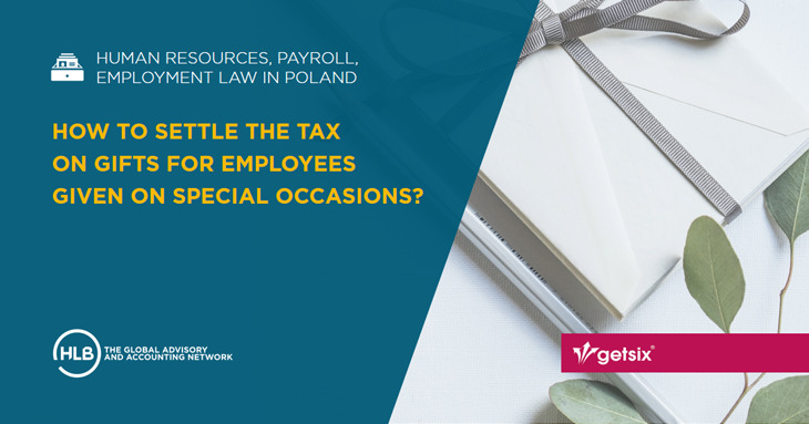 How to settle the tax on gifts for employees given on special occasions?