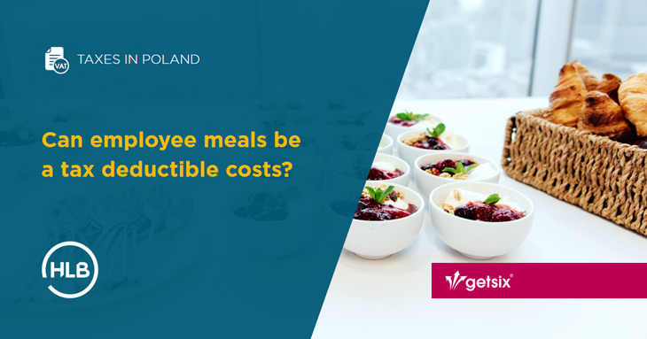 Can employee meals be a tax deductible costs?