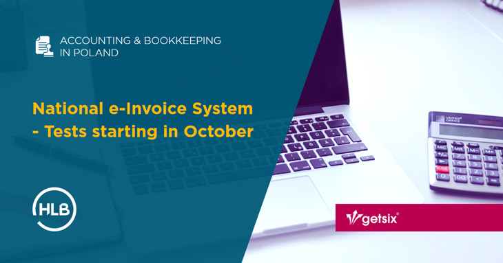 National e-Invoice System – Tests starting in October